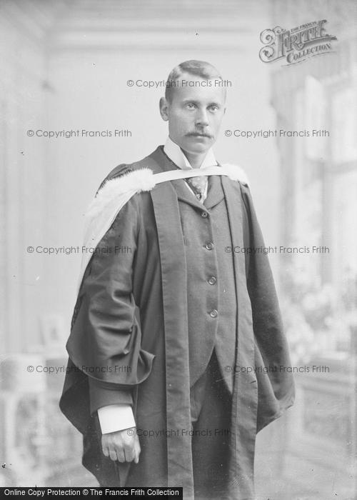 Photo of Portraiture, Mr P H Golding, School Master 1897