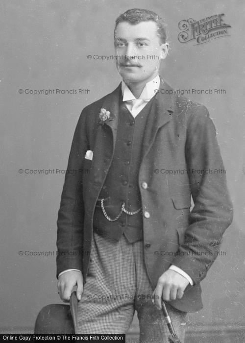 Photo of Portraiture, Mr S Archdale c.1885