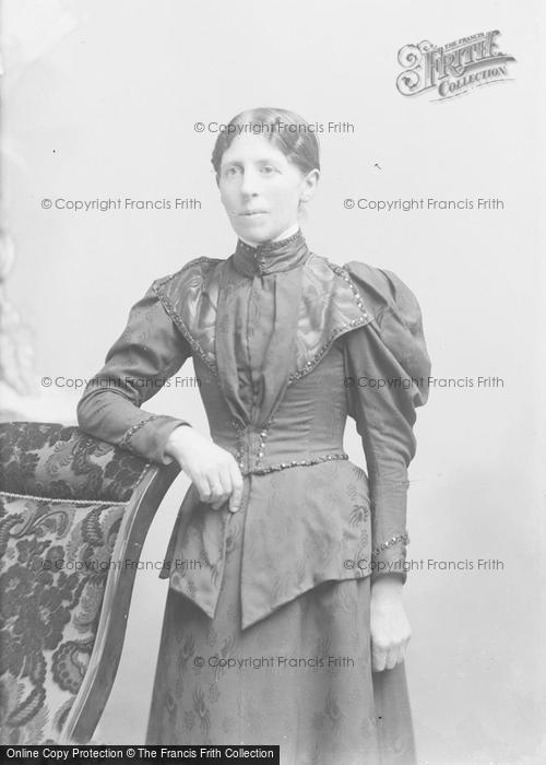 Photo of Portraiture, Mrs Ansell, Martock 1895
