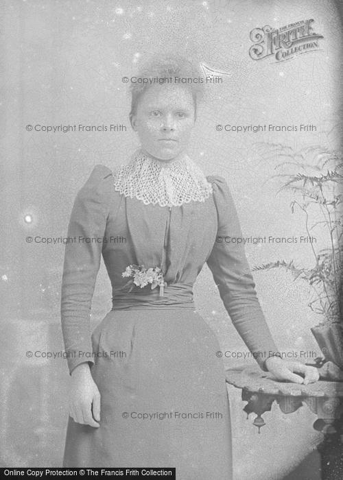 Photo of Portraiture, Mrs Bounds, Herefordshire c.1895
