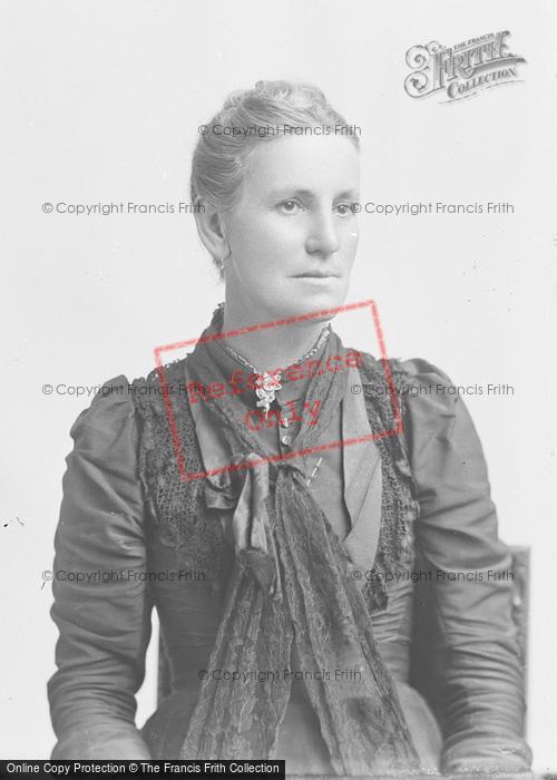 Photo of Portraiture, Mrs Butcher, Norton 1895