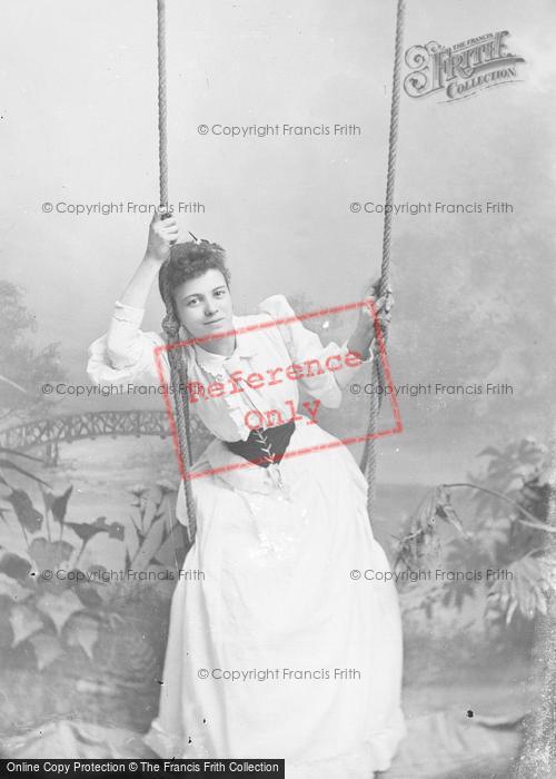 Photo of Portraiture, Mrs Colbear 1892