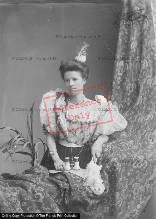 Photo of Portraiture, Mrs Hawkins 1891
