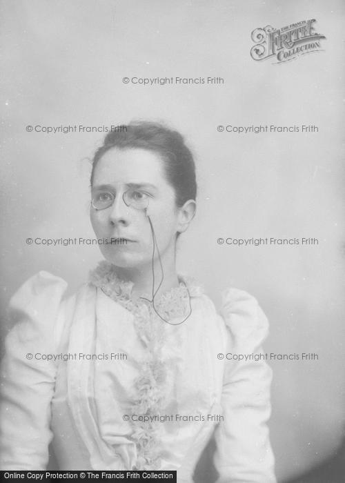 Photo of Portraiture, Mrs Hebditch, Hinton St George 1892