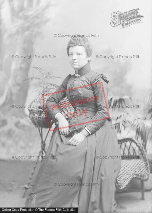 Photo of Portraiture, Mrs Parold 1891