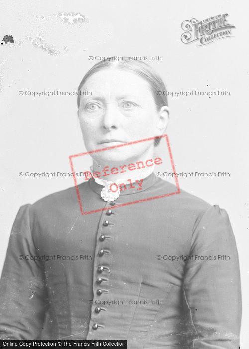 Photo of Portraiture, Mrs Pitt c.1890