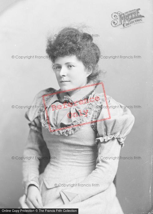 Photo of Portraiture, Mrs Rowler 1893