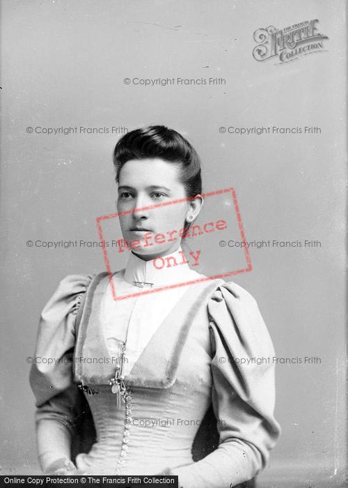 Photo of Portraiture, Mrs Taylor, Stoke 1893