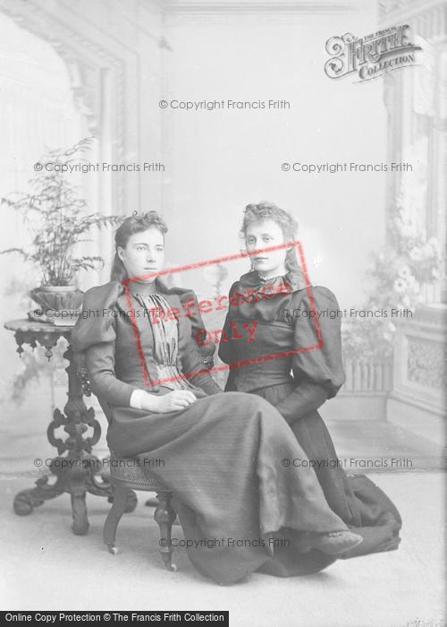 Photo of Portraiture, The Miss Adams 1893