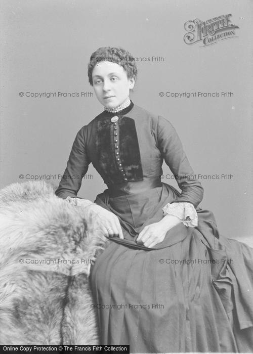 Photo of Portraiture, Victorian Lady c.1895