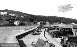 Portreath, Beach Car Park c.1955