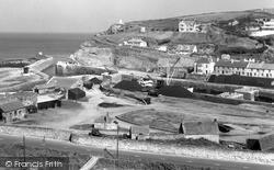 Portreath, Harbour c.1955