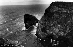 Portreath, Hell's Mouth c.1960