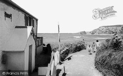 Portreath, Smugglers Cottage c.1965