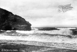 Portreath, The Headland 1898
