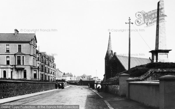 Photo of Portrush, Adam Clarke's Memorial 1897, ref. 40407