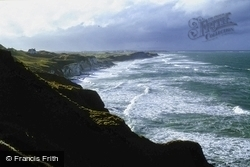 And Ranmore Head From Dunluce Bay c.1985, Portrush