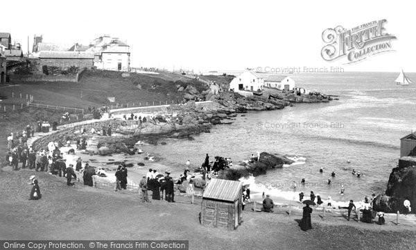 Photo of Portrush, Ladies Bathing Place 1897