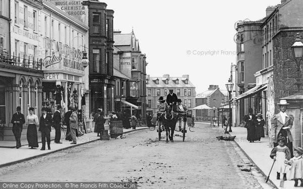 Photo of Portrush, Main Street 1897