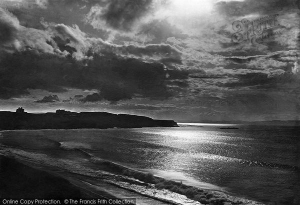 Portrush, Moonlight on north coast of Antrim