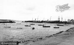 Portrush, The Harbour 1897