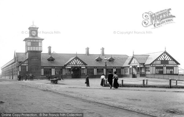 Photo of Portrush, The Railway Station 1897