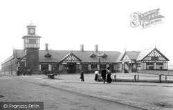 Portrush, The Railway Station 1897