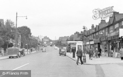 Portslade-By-Sea, Carlton Terrace c.1955