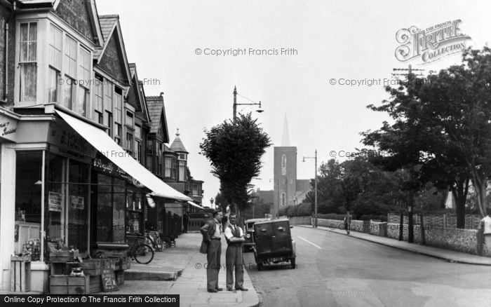 Photo of Portslade By Sea, Church Road c.1955