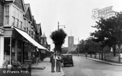 Portslade-By-Sea, Church Road c.1955