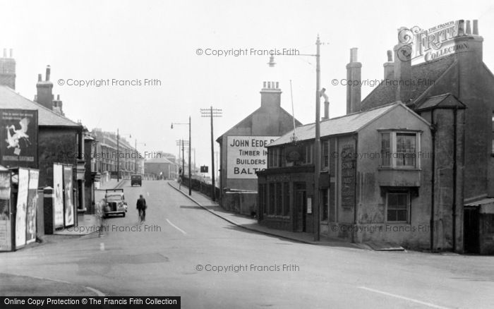 Photo of Portslade By Sea, Main Road c.1955