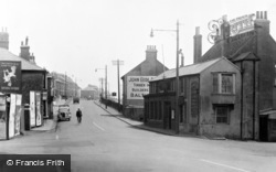 Portslade-By-Sea, Main Road c.1955