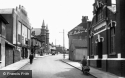 Portslade-By-Sea, North Street c.1955
