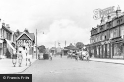 Portslade-By-Sea, Station Road c.1955