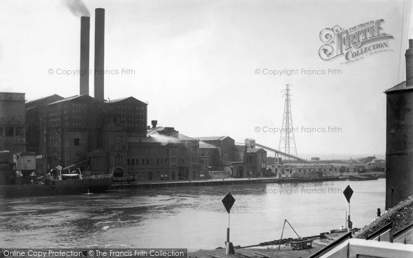 Photo of Portslade By Sea, The Power Station c.1955