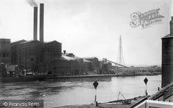 Portslade-By-Sea, The Power Station c.1955