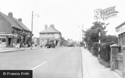 Portslade-By-Sea, Trafalgar Road c.1955