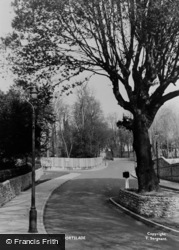 Portslade, Manor Road c.1955