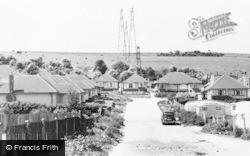 Portslade, Oakdene Crescent c.1960