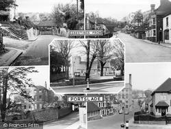 Portslade, Old Village c.1960