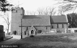 Portslade, St Nicholas's Church c.1955