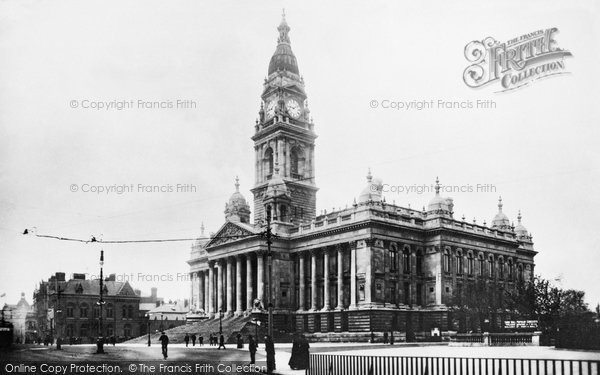 Photo of Portsmouth, Guildhall Square 1892, ref. 30002