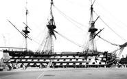 Portsmouth, HMS Victory c1960