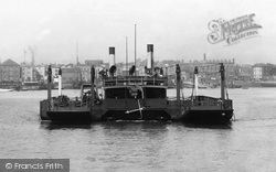 Portsmouth, The Floating Bridge, Crossing To Gosport 1898