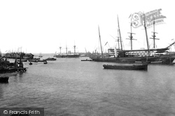 Portsmouth, The Harbour 1892
