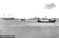 Portsmouth, The Harbour 1898