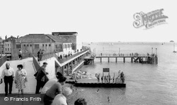 Victoria Pier And The Sally Port c.1960, Portsmouth