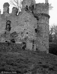 Portsoy, Boyne Castle 1961