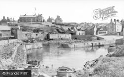 Portsoy, Old Harbour c.1935