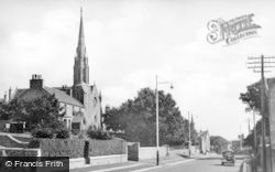 Portsoy, Seafield Terrace And West Church c.1935